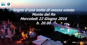Sogno d'una notte di mezza estate - Consegna Gadget Iscrizione @ Monte del re | Monte del Re | Emilia-Romagna | Italia