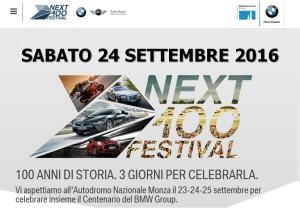 NEXT 100 FESTIVAL - Autodromo di Monza @ Autodromo di Monza | Lombardia | Italia