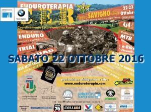 ENDURO TERAPIA - in collaborazione con il CER - Savigno, Sabato 22 Ottobre 2016