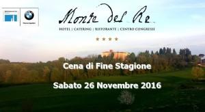 Cena di Fine Stagione - Sabato 26 Novembre 2016 @ Monte del re  | Monte del Re | Emilia-Romagna | Italia