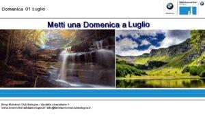 Metti una domenica a Luglio - 01 Luglio @ Bmw Motorfelsinea  | Bettola-Zeloforamagno | Lombardia | Italia