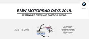 Bmw Motorrad Days 2018 - Garmisch