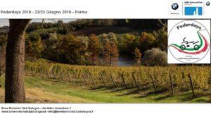 Federdays 2019 - 22/23 Giugno 2019 - Parma