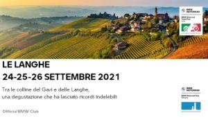 Le Langhe - 24-26 Settembre 2021 @ BMW MOTORFELSINEA